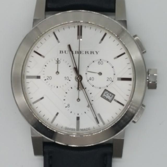 BURBERRY - バーバリー時計 BU9355 カーフベルト メンテナンス済み(商品説明参照)の通販