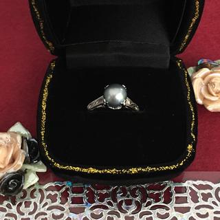 骨董市 アンティーク パール リング 装飾(リング(指輪))