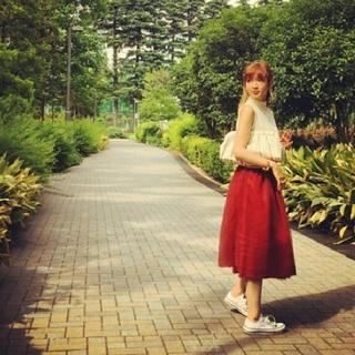 ドロシーズ(DRWCYS)の紗栄子 コラボ チュールスカート(ロングスカート)