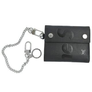 ルイヴィトン(LOUIS VUITTON)のSupreme LOUISVUITTON LV Chain Wallet BLA(ウォレットチェーン)