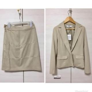 ナチュラルビューティーベーシック(NATURAL BEAUTY BASIC)のNATURAL BEAUTY BASIC ベージュ スーツ(スーツ)