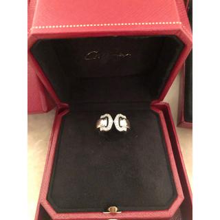 カルティエ(Cartier)のカルティエ   2C ブークルセ ダイヤ ホワイトゴールド 9号(リング(指輪))