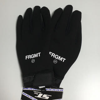 フラグメント(FRAGMENT)のPOP BY JUN fragment ST-LINE FLEECE GLOVE(手袋)