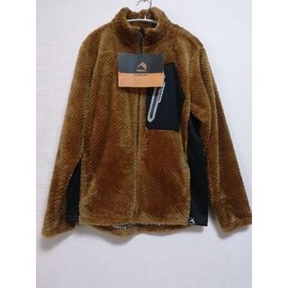 ワークマン ダイヤフリース 裏アルミジャケット XL ブラウン 茶色(その他)