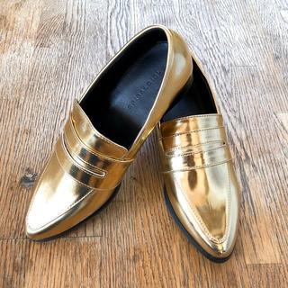 スパイラルガール(SPIRAL GIRL)の送料込み 新品 Size37 23.5㎝ スパイラルガール ローファー(ローファー/革靴)