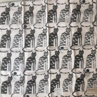 ポール&ジョーシスター(PAUL & JOE SISTER)のポール&ジョーシスター ガーゼハンカチ 猫柄 PAUL&JOE SISTER(ハンカチ)