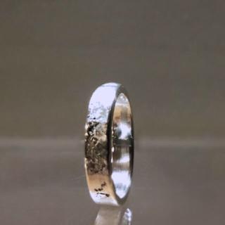 マルタンマルジェラ(Maison Martin Margiela)の▪︎Uimp▪︎ silver ring スクエアリング メンズ レディース(リング(指輪))