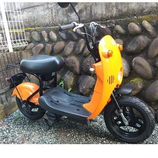 スズキ - 宮城県仙台市 スズキ チョイノリ 50cc オレンジ 実働 原付 スクーター