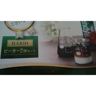 ハリオ(HARIO)のHARIO ビーカーセット 200ml&300ml ガラス 容器(グラス/カップ)
