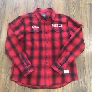 エクストララージ(XLARGE)のエクストララージ 赤 ネルシャツ サイズ M(その他)