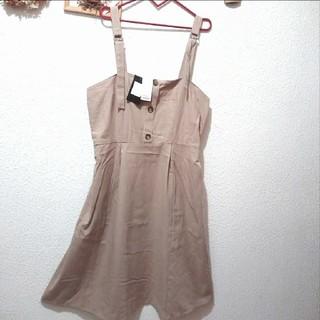 アベイル(Avail)の新品 Avail ベージュ ジャンパースカート♥3L GU(ロングワンピース/マキシワンピース)