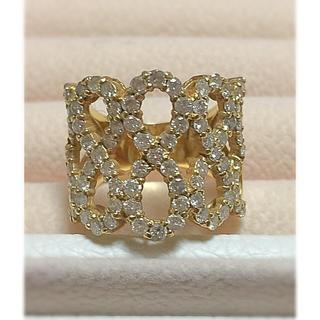 ポンテヴェキオ(PonteVecchio)の美品✨✨✨2カラットダイヤモンド K18 ゴールド 12号(リング(指輪))