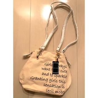 セシルマクビー(CECIL McBEE)の【新品】セシルマクビー ショルダーバッグ トートバッグ ピンク(ショルダーバッグ)