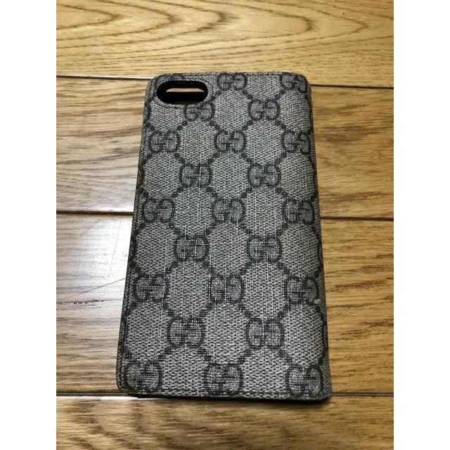 Gucci - gucci iphoneケース iphone7 iphone8 対応 訳ありの通販