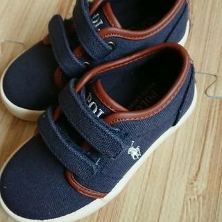 ポロラルフローレン(POLO RALPH LAUREN)の子供靴 ポロラルフローレン(スニーカー)