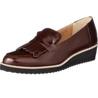 モードエジャコモ(Mode et Jacomo)のモードエジャコモ ・ローファー 美品  ブラウン 茶色(ローファー/革靴)