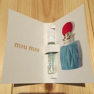 ミュウミュウ(miumiu)の【日本未発売・非売品】miumiu 香水(香水(女性用))