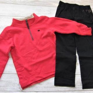 カーターズ(carter's)のカーターズ 男の子 スウェット パンツ 上下セット 5T/〓ZFZ(コン)(Tシャツ/カットソー)