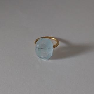 etsukosonobe 薗部悦子 ブルートパーズリング 指輪(リング(指輪))