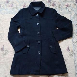シンプルな黒コート(ロングコート)