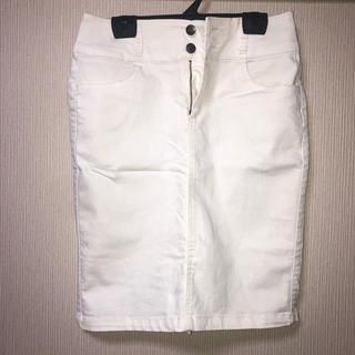 ハニーズ(HONEYS)のデニムタイトスカート(ひざ丈スカート)
