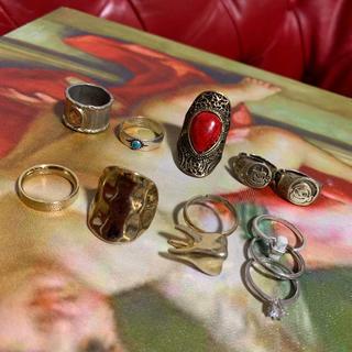 指輪 ヴィンテージ リング アクセサリー 11点 セット まとめ売り(リング(指輪))