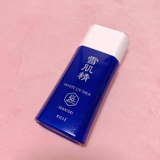 セッキセイ(雪肌精)のコーセー 雪肌精 UVミルク日焼け止め 新品(日焼け止め/サンオイル)