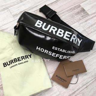 バーバリー(BURBERRY)の美品 バーバリー 新作 ホースフェリープリント  ベルトバッグ (ボディーバッグ)