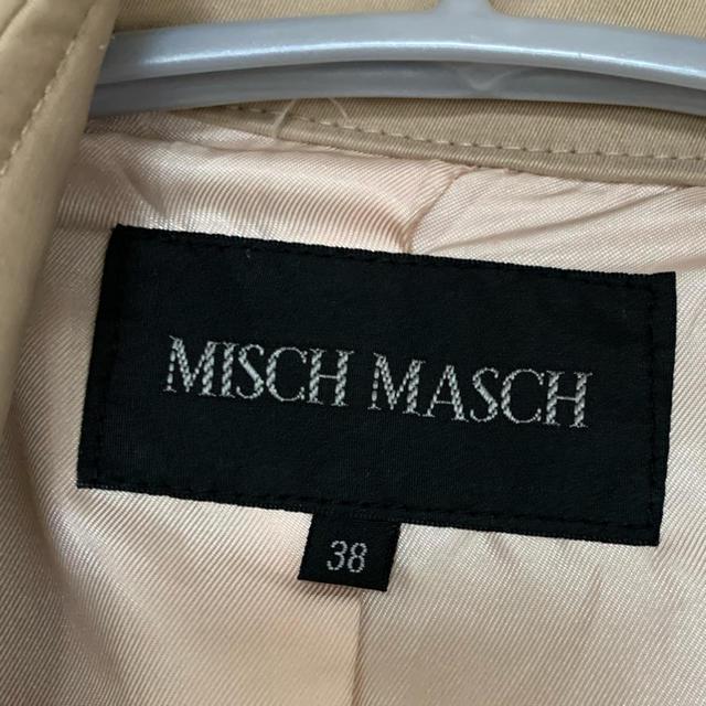 MISCH MASCH(ミッシュマッシュ)のショート丈のトレンチコート レディースのジャケット/アウター(トレンチコート)の商品写真