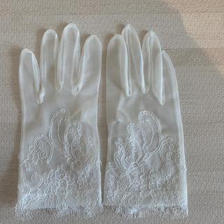 シェリー(CHERIE)のcherie ショートグローブ ウェディング(手袋)