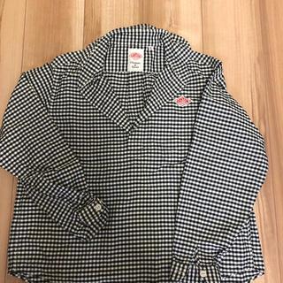 ダントン(DANTON)のダントン チェックシャツ 丸襟(Tシャツ(長袖/七分))
