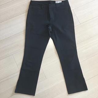 ミッシェルクラン(MICHEL KLEIN)のブラック 七分裾ズボン(カジュアルパンツ)
