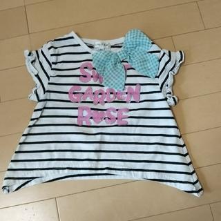 エニィファム(anyFAM)のanyFAM Tシャツ カットソー 半袖 女の子 子供服 夏服 サイズ90(Tシャツ/カットソー)