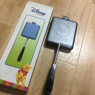 ディズニー(Disney)のデイズニー、プーさん★ホットサンドトースター(サンドメーカー)
