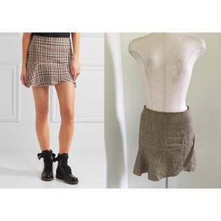 イザベルマラン(Isabel Marant)のイザベルマラン  チェックフリルスカート (ミニスカート)