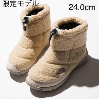 ザノースフェイス(THE NORTH FACE)のemmi ノースフェイスヌプシ 限定モデル 24.0cm 新品(ブーツ)