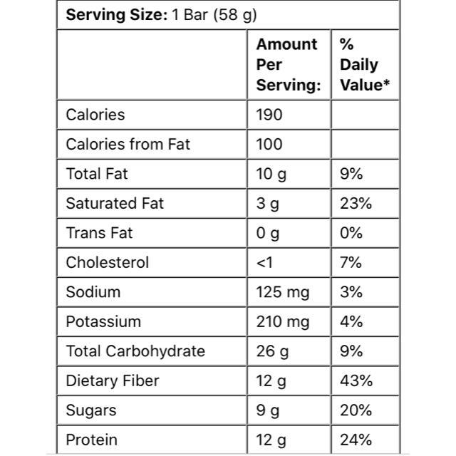 ビーガンプロテインバー ピーナツバターブラウニー味 Dr.Murrays 食品/飲料/酒の健康食品(その他)の商品写真