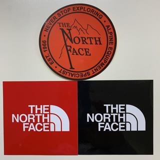 ザノースフェイス(THE NORTH FACE)のノースフェイス ステッカー シール 3枚セット 未使用(その他)