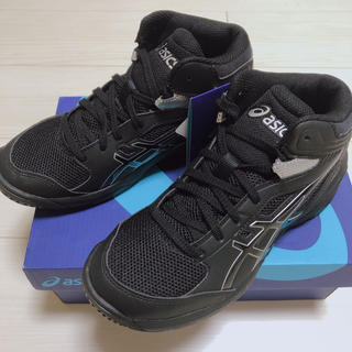 アシックス(asics)の【タグ付き新品】asics DUNKSHOT MB8 ブラック 22.0(バスケットボール)