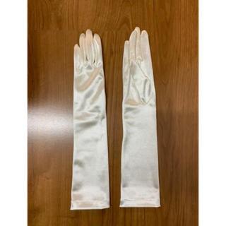 ブルーム(BLOOM)のお値下げ プリマカーラ  PRIMACARA ウェディンググローブ 肘下 結婚式(ウェディングドレス)
