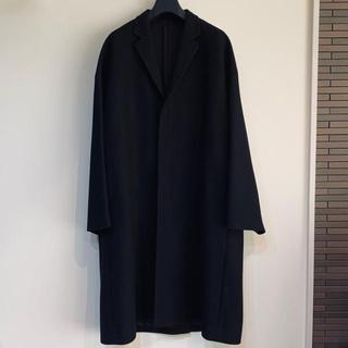 ラッドミュージシャン(LAD MUSICIAN)の【極美品】LAD MUSICIAN big chester coat 黒 46(チェスターコート)