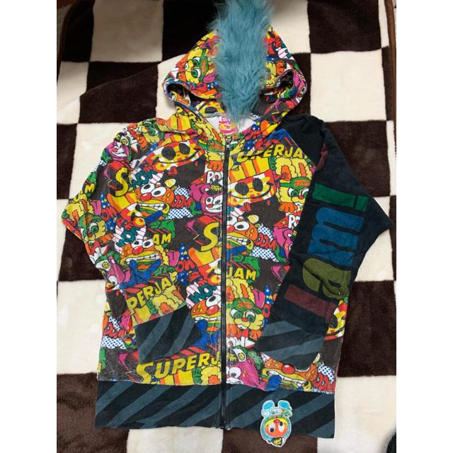 JAM(ジャム)のJAM パーカー 140 キッズ/ベビー/マタニティのキッズ服男の子用(90cm~)(ジャケット/上着)の商品写真