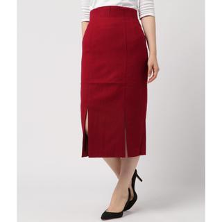 スライ(SLY)のスライ スカート ボルドー レッド(ひざ丈スカート)