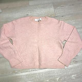 ルシェルブルー(LE CIEL BLEU)のルシェルブルー  ニット ピンク サイズ38(ニット/セーター)
