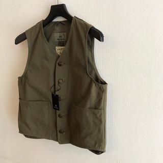 エンジニアードガーメンツ(Engineered Garments)の新品 Nigel Cabourn ナイジェルケーボン HALFTEX ベスト(ベスト)