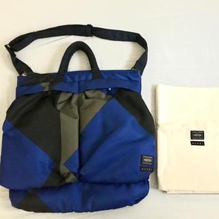 PORTER - MARNI x PORTER ヘルメットバッグ ショルダー保存袋付き