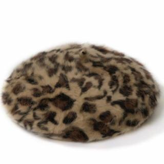 グレイル(GRL)のレオパード柄ベレー帽♡(ハンチング/ベレー帽)