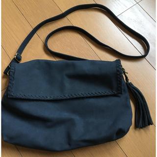 サマンサモスモス(SM2)のお値下げ!!紺ショルダーbag(ショルダーバッグ)