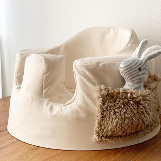 Bumbo - fluffy pocket バンボカバー ハンドメイド アイボリーホワイト