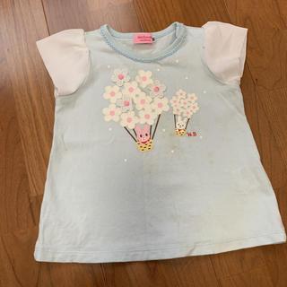 ミキハウス(mikihouse)のミキハウス80センチ Tシャツ(Tシャツ)